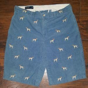 Polo Ralph Lauren Dog Print Shorts